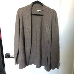Croft & Barrow open front cardigan! Size L